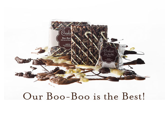 Our Boo-Boo is the best! A happy mistake that we're sure you'll love! Choose from a selection of gifts, including Krispettes (gourmet crispy rice treats) and shortbread collections,and seasonal sugar cookies. Remember most of our Krispettes are gluten-free and all of our products are made with only the best natural and organic ingredients. 